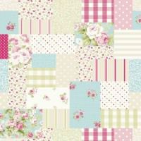 Pink Patchwork Swatch