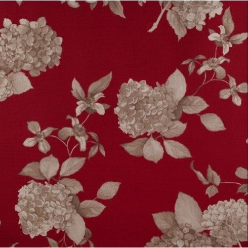 Rosewood Red Hydrangea Swatch