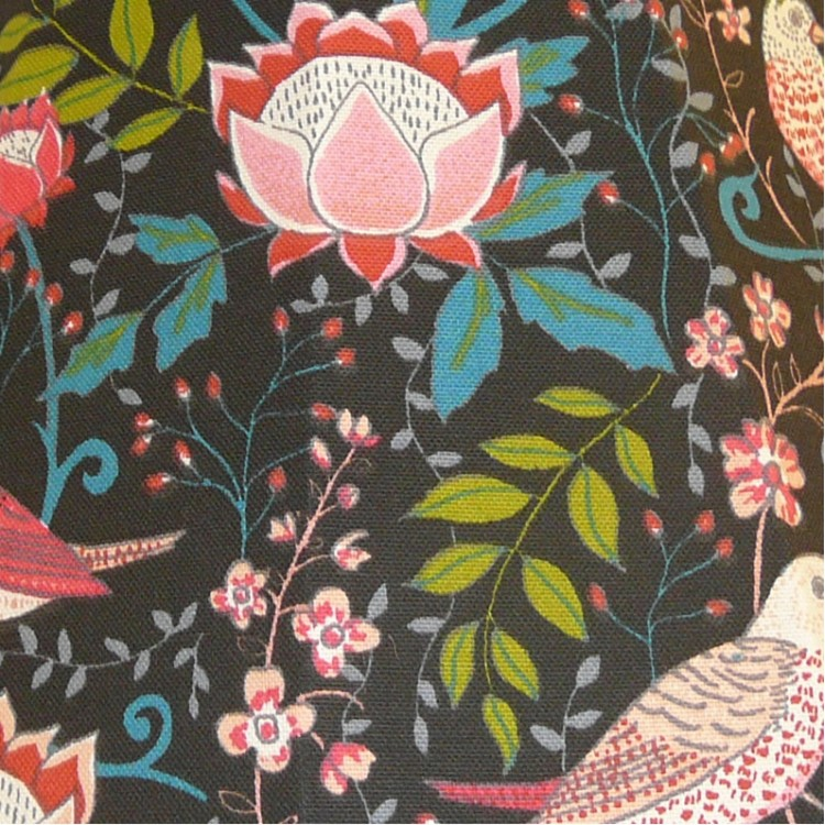 Strawberry Thief William Morris Style Fabric