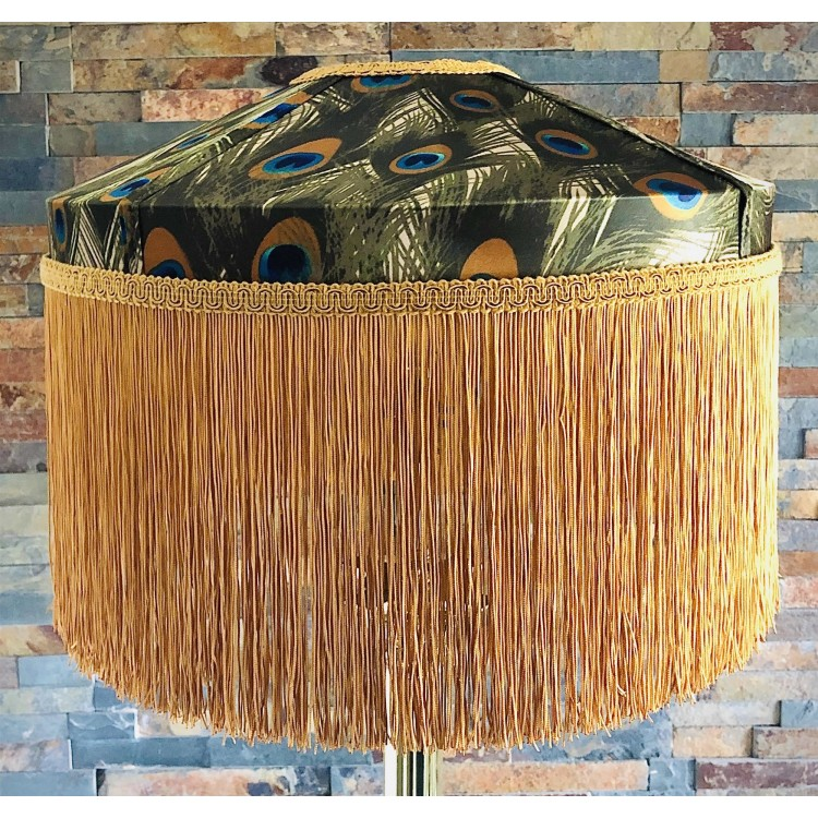 Peacock Feathers Tiffany Lampshades