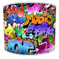 Graffiti Childrens Lampshades