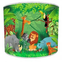 Jungle Childrens Lampshades