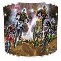 Motocross Childrens Lampshades